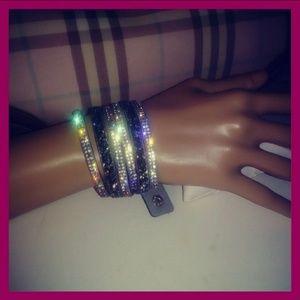 💎LUX💎Gorgeous Gem Layer Wristpiece BNWT